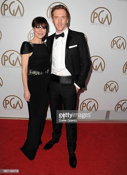 Damian Lewis arrives at the 24th Annual Producers Guild Awards at The Beverly Hilton Hotel on January 26 2013 in Beverly Hills California