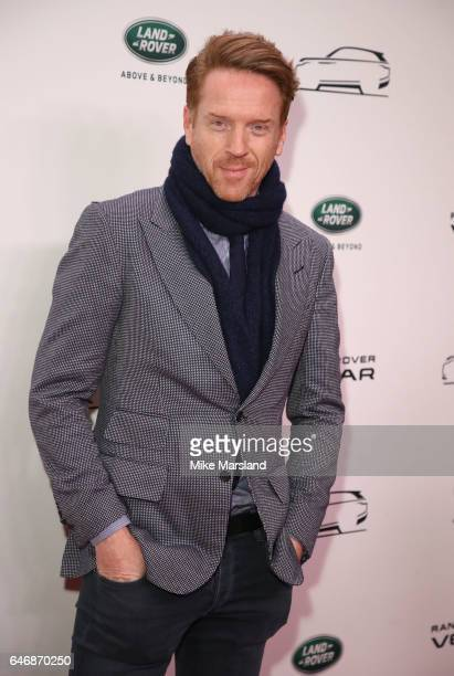 Damian Lewis arrives at the launch of the New Range Rover Velar on March 1 2017 in London United Kingdom