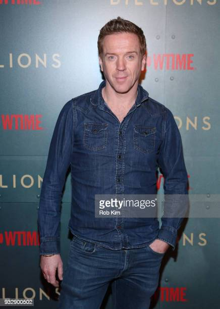Damian Lewis arrives for BILLIONS Season 3 Premiere Cocktail Party at Mr Purple in New York City on March 15 2018 in New York City