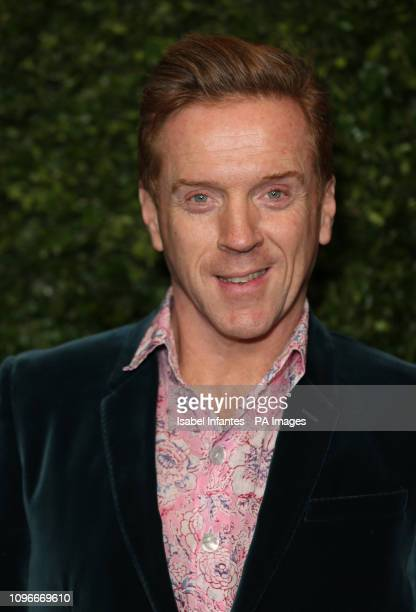 Damian Lewis arrives for the Charles Finch x Chanel preBafta dinner in Mayfair London