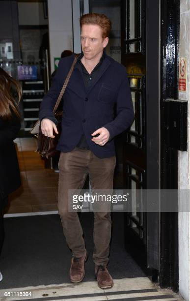 Damian Lewis at BBC Radio 2 on March 10 2017 in London England