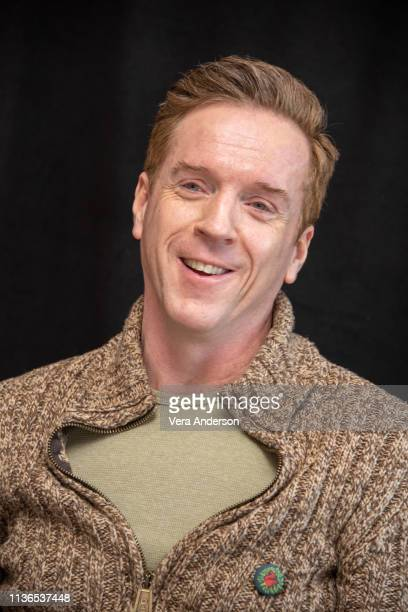 Damian Lewis at the Billions Press Conference at the Crosby Street Hotel on March 17 2019 in New York City
