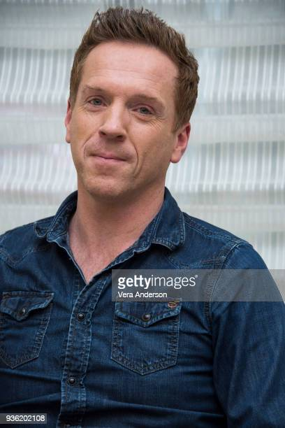 Damian Lewis at the 'Billions' Press Conference at the Peninsula Hotel on March 20 2018 in New York City