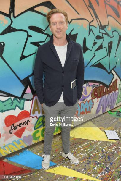 """Damian Lewis attends a performance of the Sir Hubert Von Herkomer Arts Foundation's production of """"A Brave New World"""" in memory of patron Helen..."""
