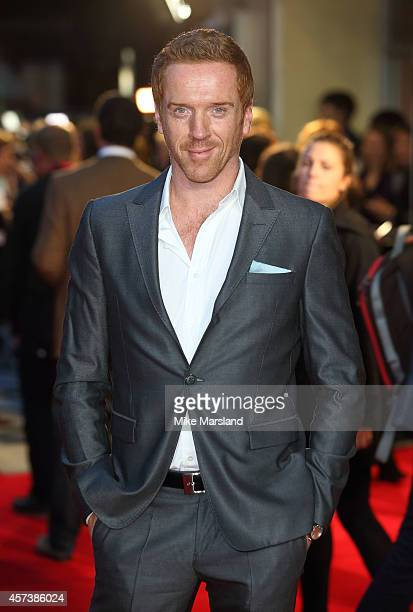Damian Lewis attends a screening of 'A Little Chaos' during the 58th BFI London Film Festival at Odeon West End on October 17 2014 in London England