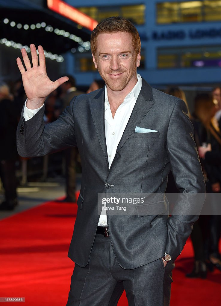 Damian Lewis attends a screening of 'A Little Chaos' during the 58th BFI London Film Festival at Odeon West End on October 17, 2014 in London, England.