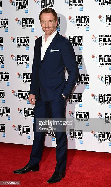 Damian Lewis attends a screening of 'Silent Storm' during the 58th BFI London Film Festival at Vue West End on October 14 2014 in London England