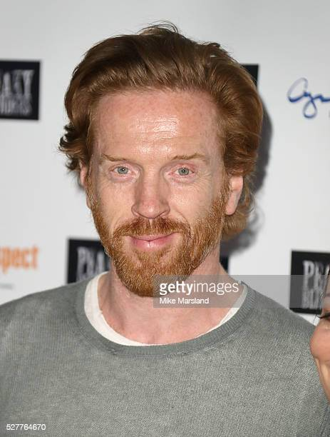 """Damian Lewis attends BBC Two's drama """"Peaky Blinders"""" UK premiere screening of episode one, series three at BFI Southbank on May 3, 2016 in London,..."""