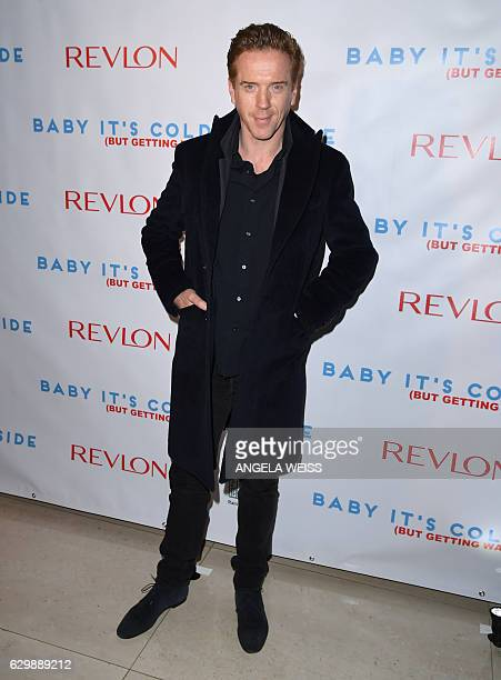 Damian Lewis attends the 2016 Revlon Holiday Concert for The Rainforest Fund Gala at JW Marriott Essex House on December 14 2016 in New York City /...