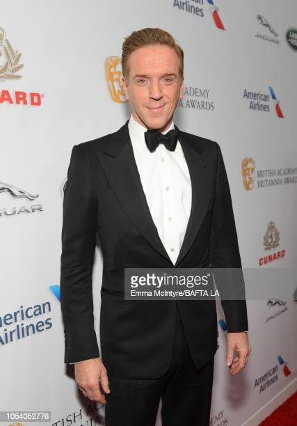 Damian Lewis attends the 2018 British Academy Britannia Awards presented by Jaguar Land Rover and American Airlines at The Beverly Hilton Hotel on...
