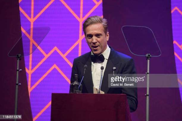 Damian Lewis attends the 65th Evening Standard Theatre Awards in association with Michael Kors at the London Coliseum on November 24 2019 in London...