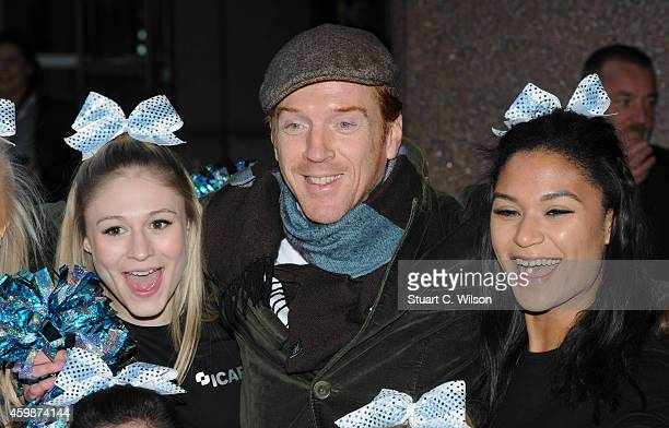 Damian Lewis attends The Annual ICAP Charity Day at ICAP on December 3, 2014 in London, England.