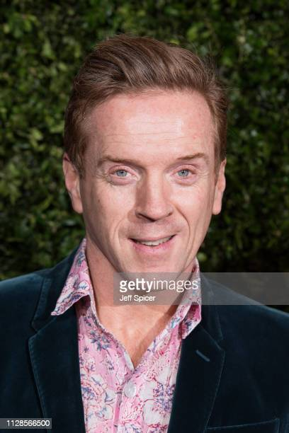 Damian Lewis attends the Charles Finch Chanel preBAFTA's dinner at Loulou's on February 09 2019 in London England