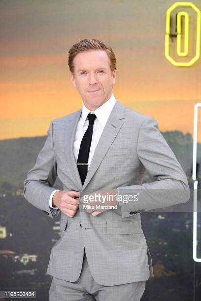 Damian Lewis attends the Once Upon A Time In Hollywood UK Premiere at Odeon Luxe Leicester Square on July 30 2019 in London England