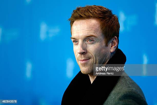 Damian Lewis attends the 'Queen of the Desert' photocall during the 65th Berlinale International Film Festival at Grand Hyatt Hotel on February 6...