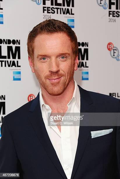 Damian Lewis attends the red carpet arrivals of Silent Storm during the 58th BFI London Film Festival at Vue Leicester Square on October 14 2014 in...