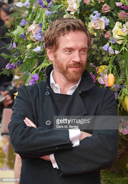Damian Lewis attends the UK premiere of A Little Chaos at ODEON Kensington on April 13 2015 in London England