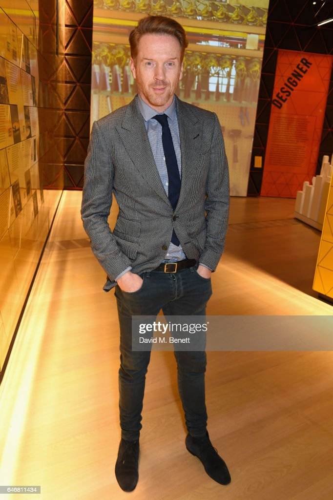 Damian Lewis attends the world premiere launch of the new Range Rover Velar at Design Museum on March 1, 2017 in London, England.