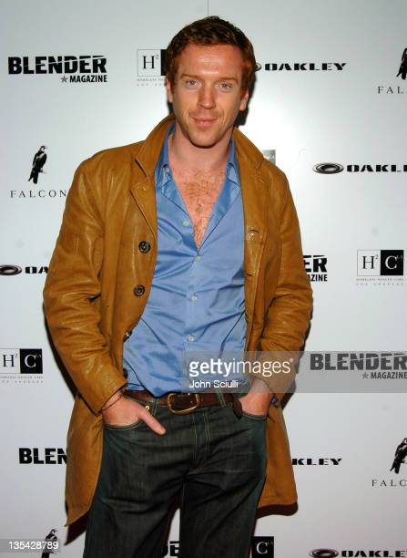 Damian Lewis during Falcon Restaurant and Blender Magazine Host Homeless Health Care Benefit Los Angeles at Falcon Restaurant in Los Angeles...