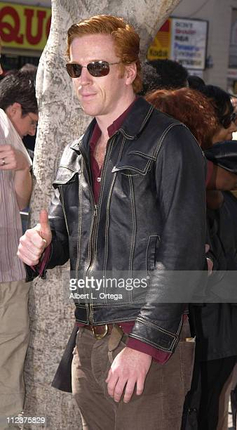 Damian Lewis during Morgan Freeman Honored With A Star On The Hollywood Walk Of Fame at Hollywood Blvd in front of The Galaxy Theater in Hollywood...
