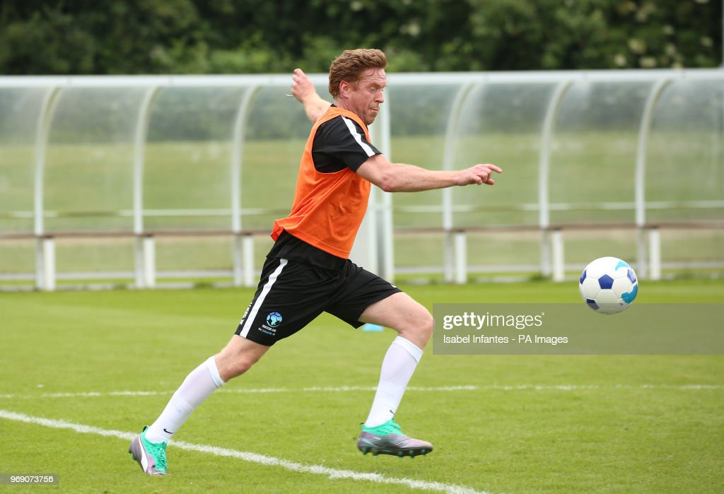 Soccer Aid for UNICEF Training Session - Motspur Park : News Photo