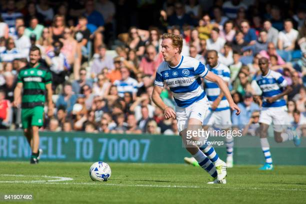 Damian Lewis during the #GAME4GRENFELL at Loftus Road on September 2, 2017 in London, England. The charity football match has been set up to benefit...