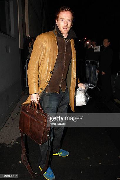 Damian Lewis is seen on December 26 2009 in London England