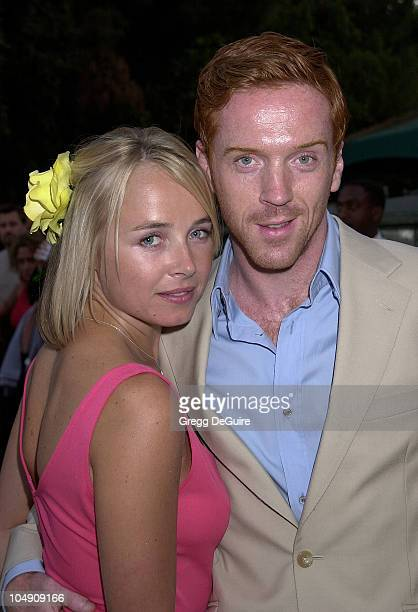 Damian Lewis Katie Razzall during HBO Networks Band Of Brothers Hollywood Premiere at The Hollywood Bowl in Hollywood California United States