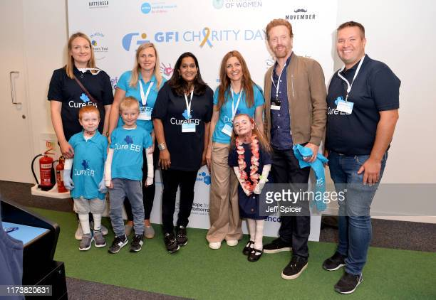 Damian Lewis OBE representing Cure EB attends the GFI Charity Day to commemorate the 658 employees who perished on September 11 2001 in the World...