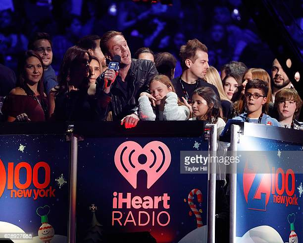 Damian Lewis performs during the 2016 Z100 Jingle Ball at Madison Square Garden on December 9 2016 in New York City
