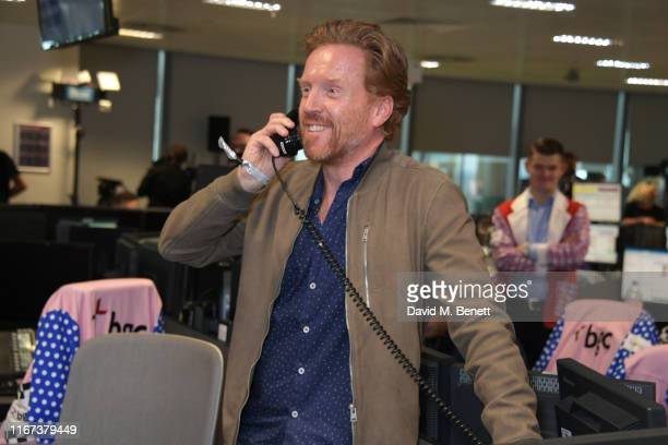 Damian Lewis representing the Sir Hubert Von Herkomer Arts Foundation attends BGC Charity Day at One Churchill Place on September 11 2019 in London...