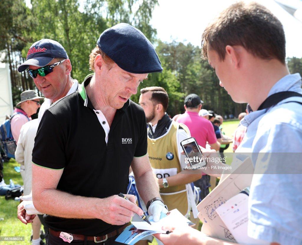 2017 BMW PGA Championship - Pro-Am - Wentworth Golf Club : ニュース写真
