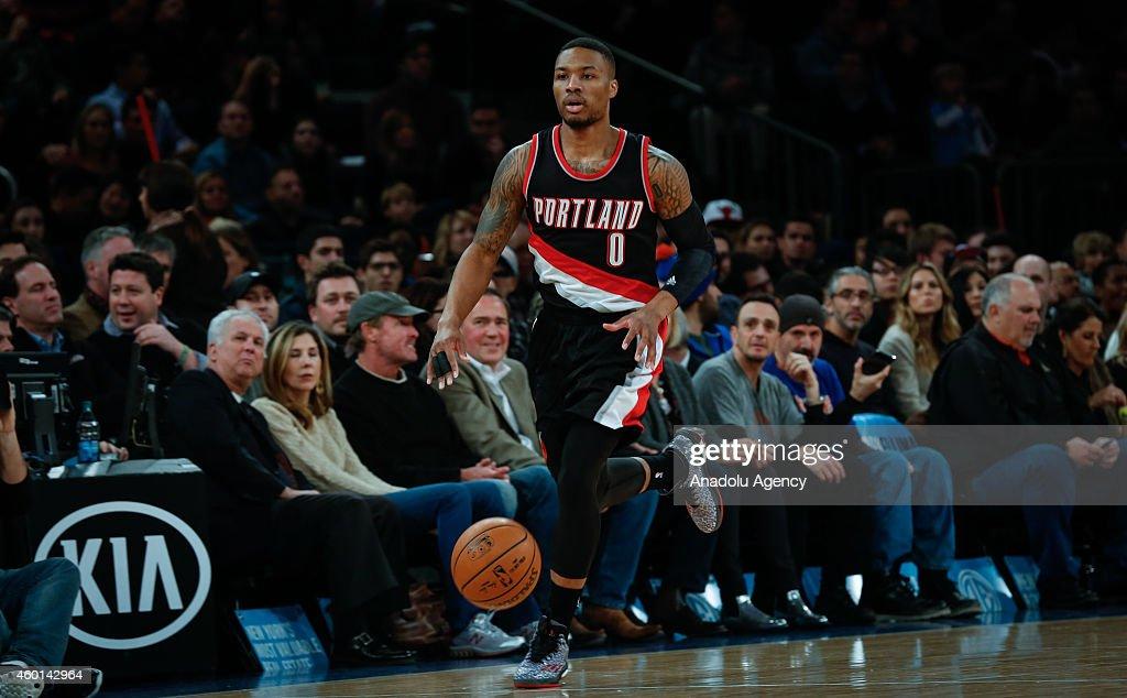 New York Knicks v Portland Trail Blazers : News Photo