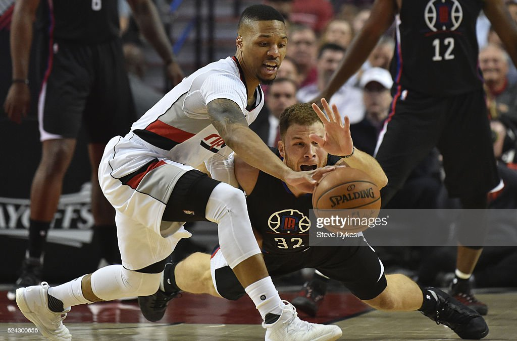 Los Angeles Clippers v Portland Trail Blazers - Game Four
