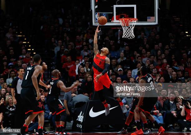 Damian Lillard of the Portland Trail Blazers in action against the Houston Rockets at Moda Center on December 9 2017 in Portland Oregon NOTE TO USER...