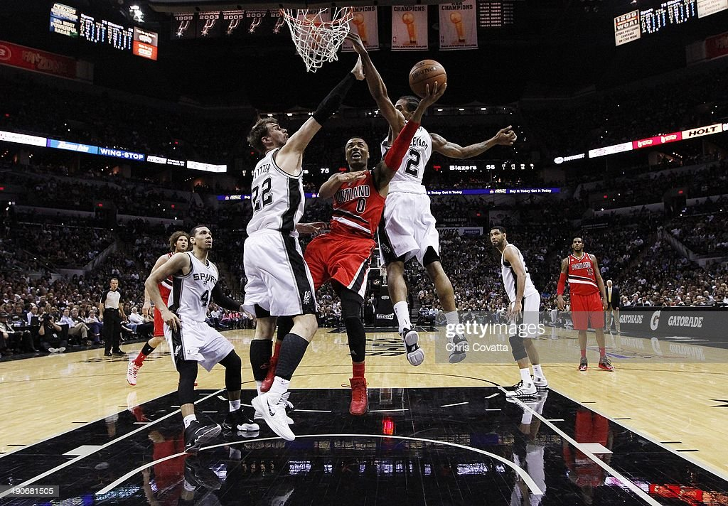 Portland Trail Blazers v San Antonio Spurs - Game Five