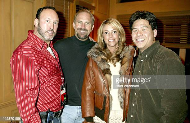 Damian Litchtenstein Kevin Costner Christine Costner and Lotay Yang B of A *exclusive*
