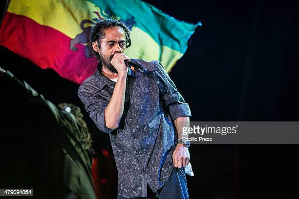 Damian Marley performed live on stage at Carroponte Damian Robert Nesta Jr Gong Marley is a Jamaican reggae artist Damian is the youngest son of...