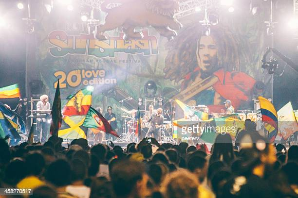 damian marley. - reggae stock photos and pictures