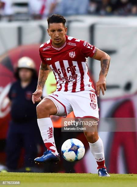 Damian Martinez of Union kicks the ball during a match between River and Union as part of Superliga 2017/18 at Monumental Stadium on November 22 2017...