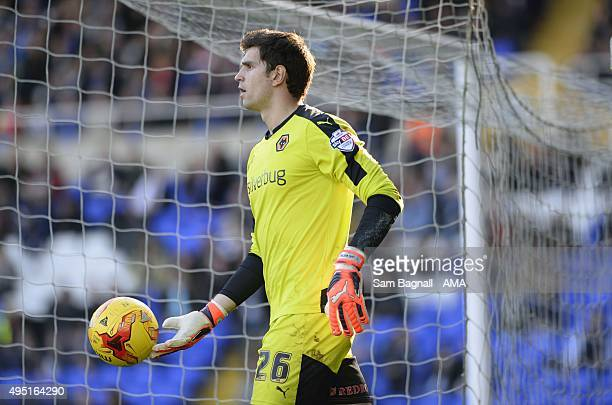Damian Martinez of Wolverhampton Wanderers during the Sky Bet Championship match between Birmingham City and Wolverhampton Wanderers at St Andrews on...