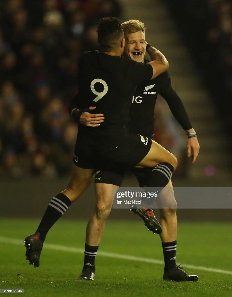 Scotland v New Zealand - International Match