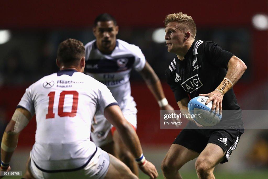 USA v Maori All Blacks - International Match : News Photo