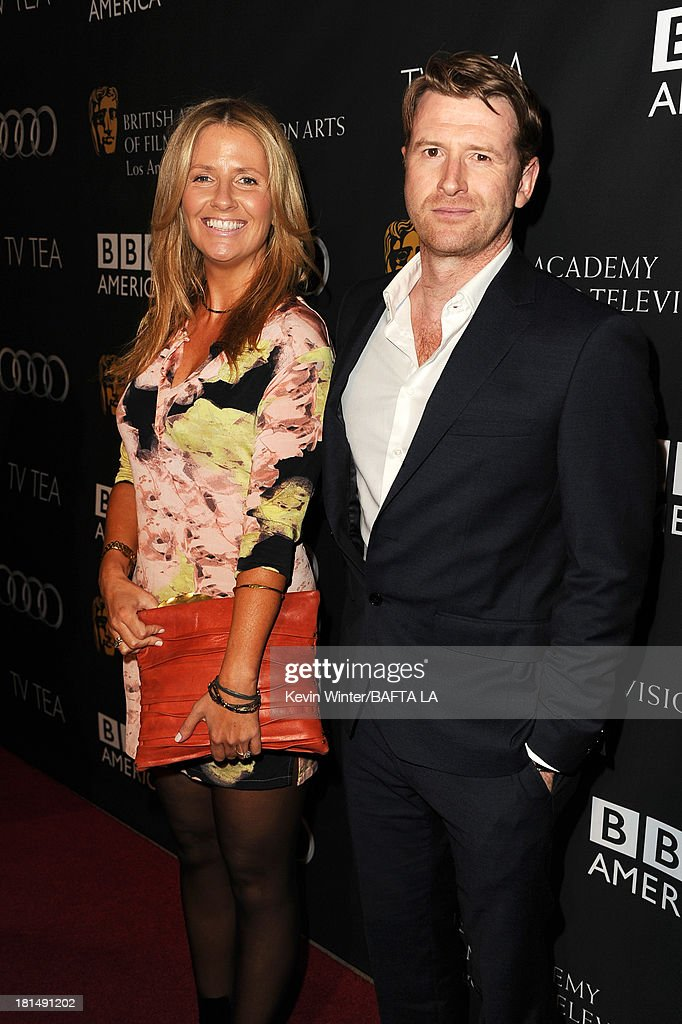 Damian O'Hare attends the BAFTA LA TV Tea 2013 presented by BBC America and Audi held at the SLS Hotel on September 21, 2013 in Beverly Hills, California.