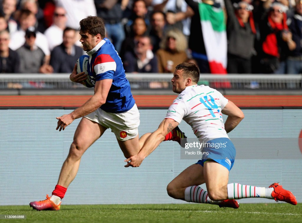 Italy v France - Guinness Six Nations : News Photo