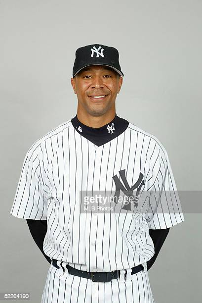 6a2372b5622 Damian Rolls of the New York Yankees poses for a portrait during photo day  at Legends