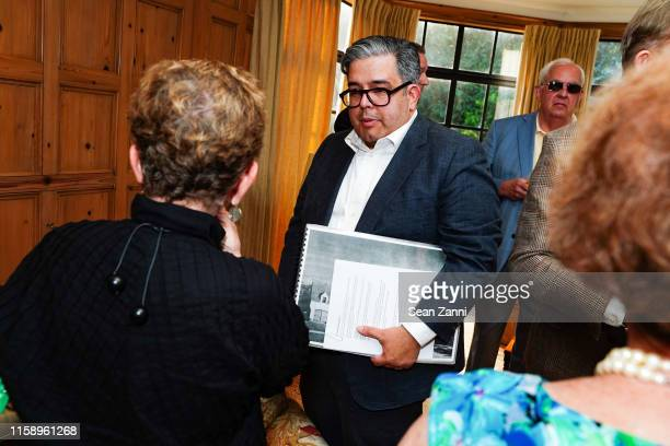 Damian Samora attends A Country House Gathering To Benefit Preservation Long Island on June 28 2019 in Locust Valley New York