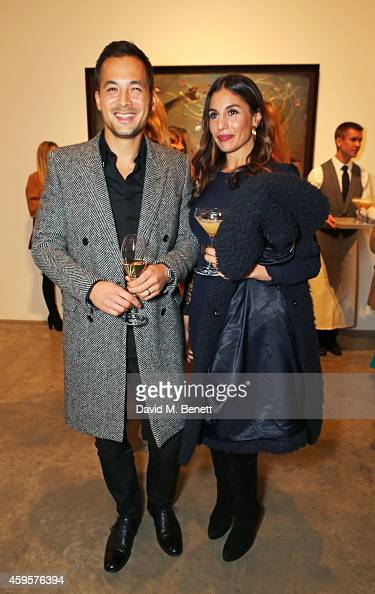 df8609d96cbb5 Damian Soong and Alexandra Miro attend a dinner to celebrate... News Photo  - Getty Images