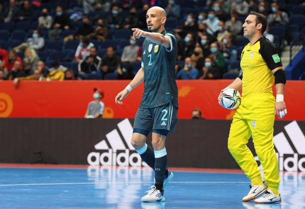LTU: IR Iran v Argentina: Group F - FIFA Futsal World Cup 2021