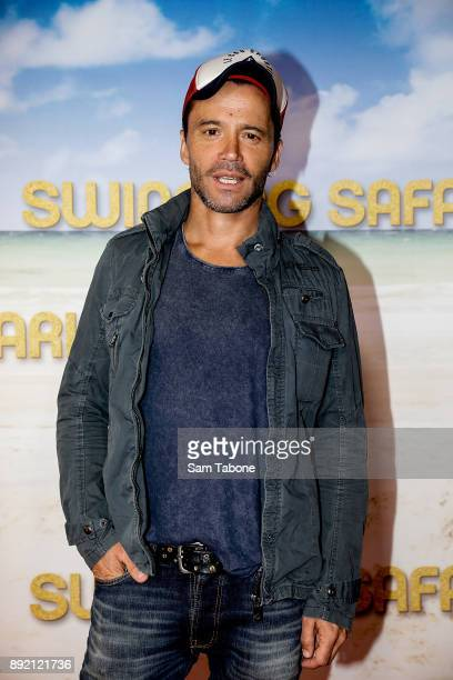 Damian Walsh Howling attends the Melbourne premiere of Swinging Safari on December 14 2017 in Melbourne Australia